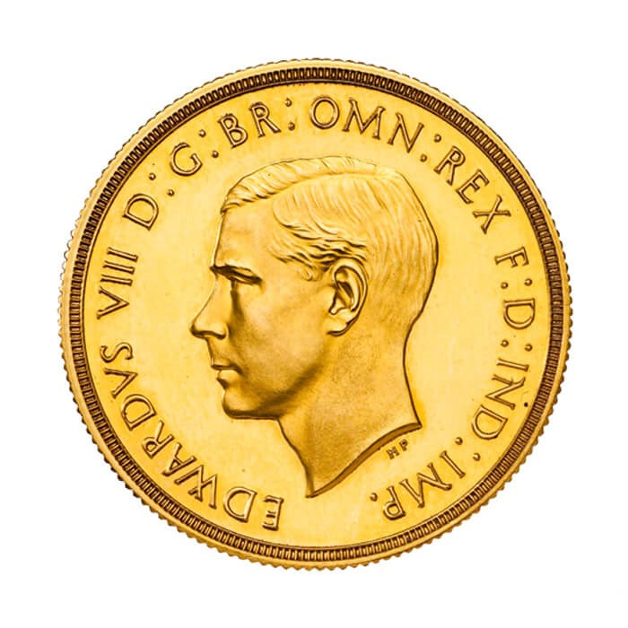 The coins of Edward VIII