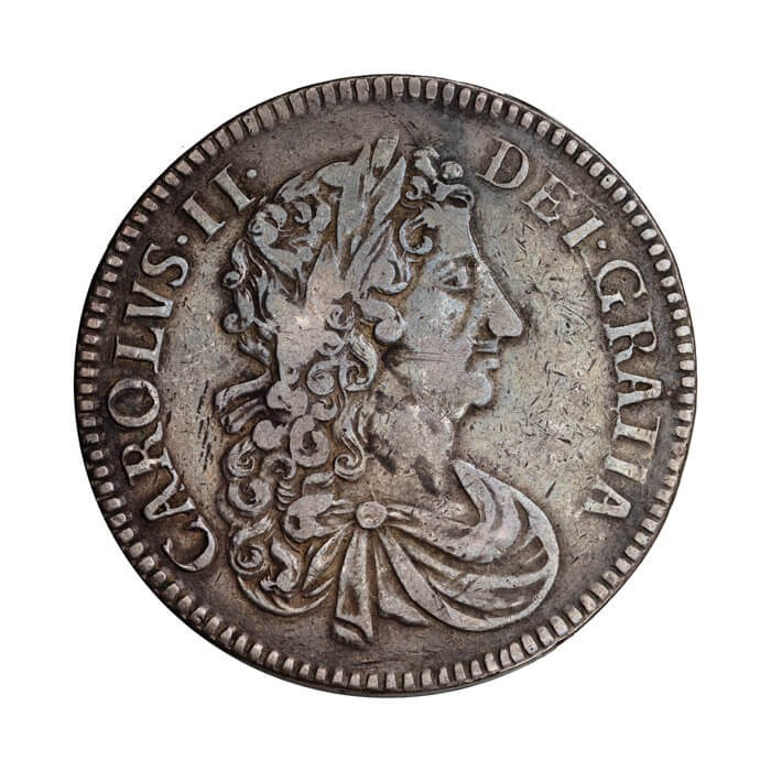 Charles I counterfeit crown