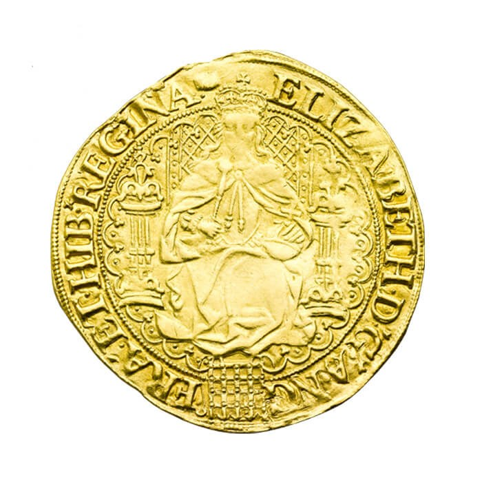 Elizabeth I fine sovereign