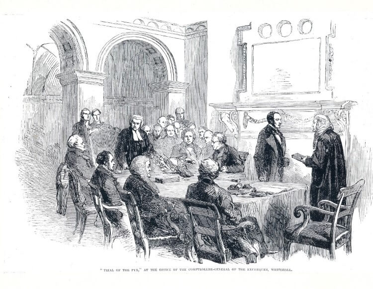 Trial of the Pyx 6 Dec 1854 - Illustrated London News Picture Library.jpg