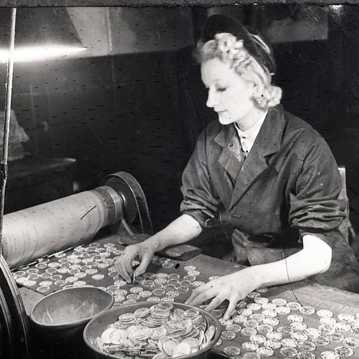 Second World War: Women at the Mint